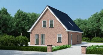 Een eigen huis laten bouwen met groothuisbouw for Zelf woning bouwen prijzen